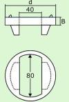Крышка колодца ПВК-8